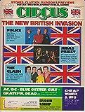 Circus Magazine THE NEW BRITISH INVASION Clash JUDAS PRIEST Police AC/DC Cheap Trick GRATEFUL DEAD May 31, 1981 C