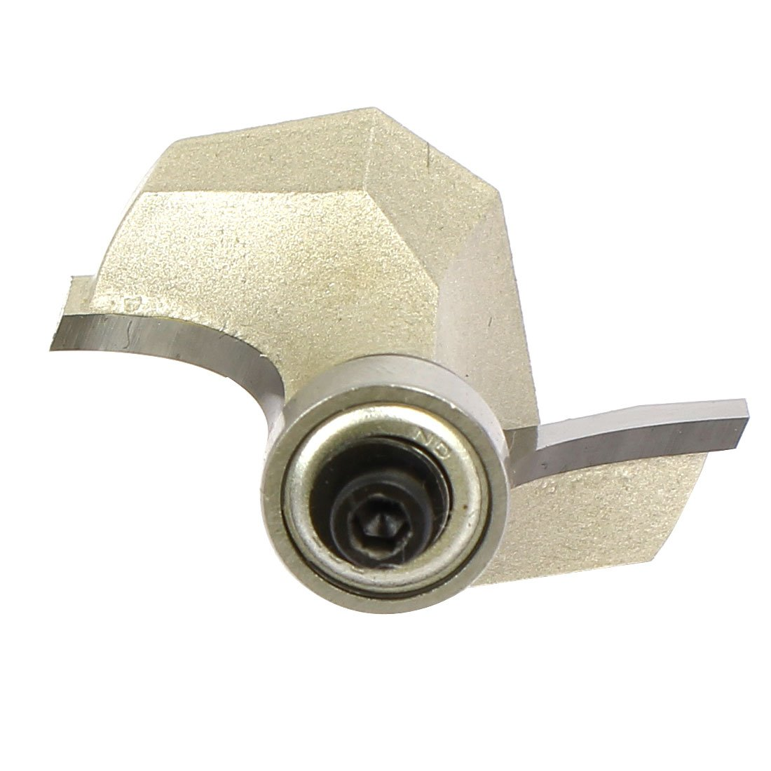 uxcell 1//4-inch Shank 1-inch Cutting Dia 2 Flutes Corner Round Roundover Router Bit