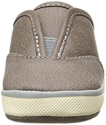 Baby Deer Gore Distressed Walker Slip On (Infant/Toddler), Taupe, 3 M US Infant