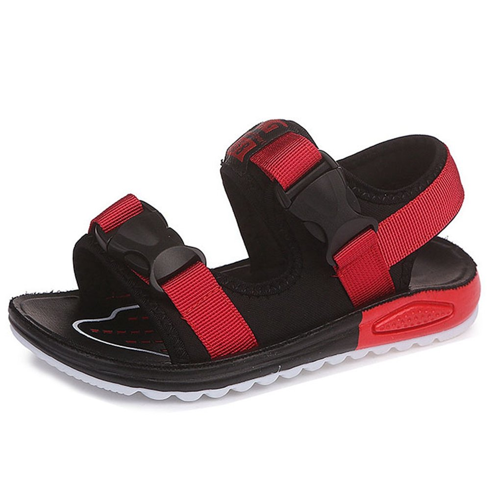 Summer Beach Outdoor Closed-Toe Double Adjustable Straps Sandals for Boys and Girls (Toddler/Little Kid/Big Kid)
