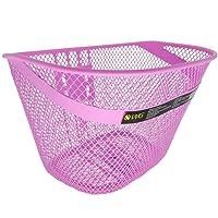 Cesta de Arame WG Sports para Bicicleta Aro 16 Rosa