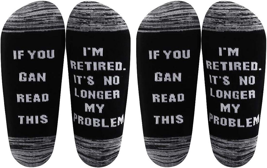AATOP - Calcetines de regalo de jubilación para hombre