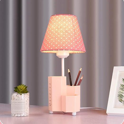 WZJ-TABLE LAMP Linda y cálida habitación para niños Lámpara de ...