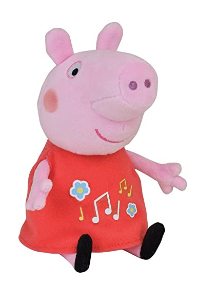 Jemini - 023167 - Peppa Pig - Peluche Musicale +/-20 cm: Amazon.it