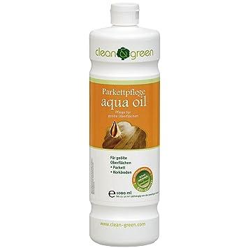Extrem clean & green Parkettpflege aqua oil, 1 Liter: Amazon.de: Baumarkt PQ81