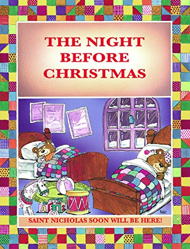 Miniature Sleigh - THE NIGHT BEFORE CHRISTMAS: SAINT NICHOLAS WILL SOON BE HERE! - ARRIVING IN A MINIATURE SLEIGH AND EIGHT TINY REINDEERS (TALES FOR CHILDREN Book 5)