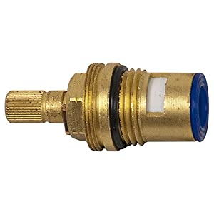 DANCO Cold Stem for Aquasource and Glacier Bay Faucets, 4Z-25C, Brass, 1-Pack (10671)