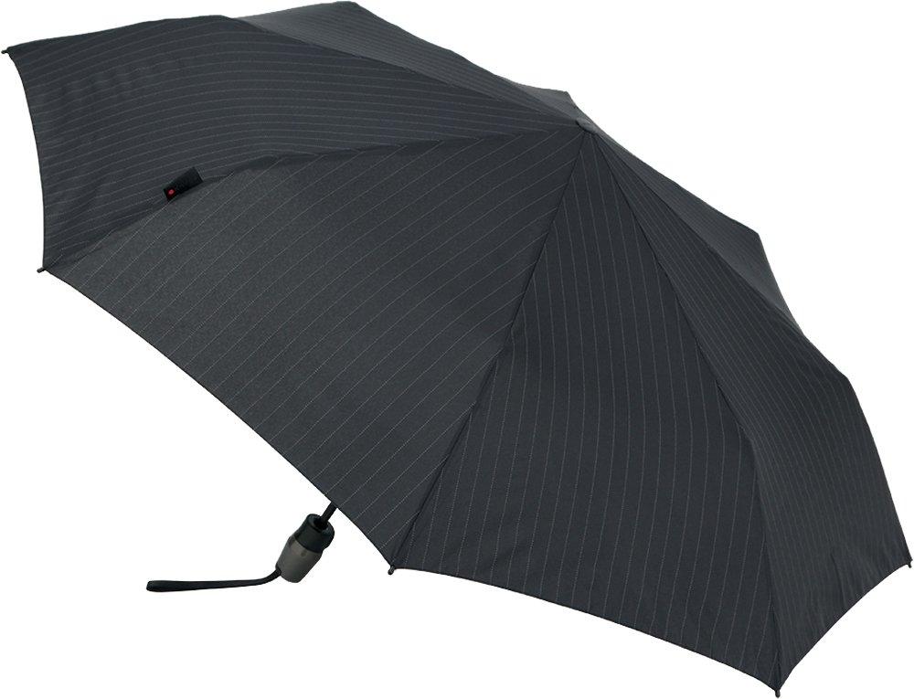 Knirps 折りたたみ傘 ワンタッチ自動開閉 耐久性強化 【正規輸入品】 T.220 MediumDuomaticSafety PinstripeBlack KNT220-4100 B076S3N6ZFPinstripe Black