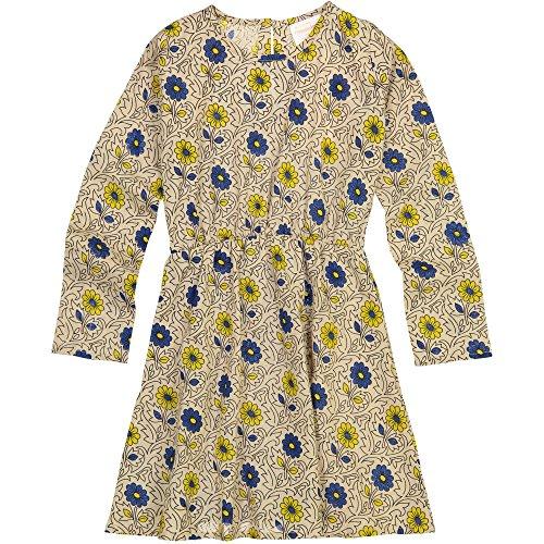 Masala Little Misha Vestido de Arena para jardín para niñas, Arena, 10 Años