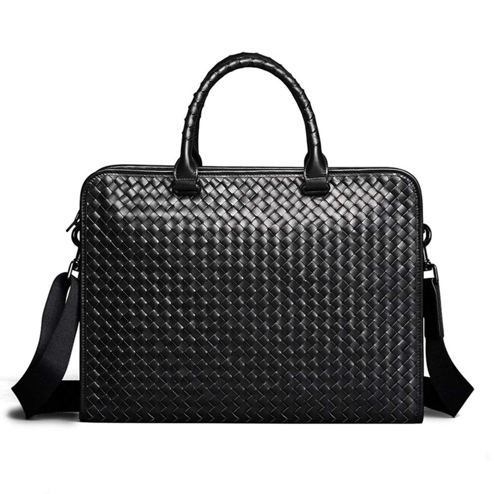 Men's Messenger Bag Men's Laptop Briefcase Business Messenger Bag Multi-Function Structure Bag