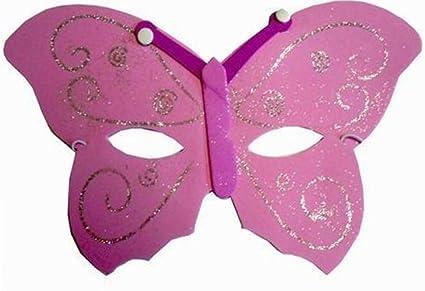 De la mariposa de la máscara - Color de rosa