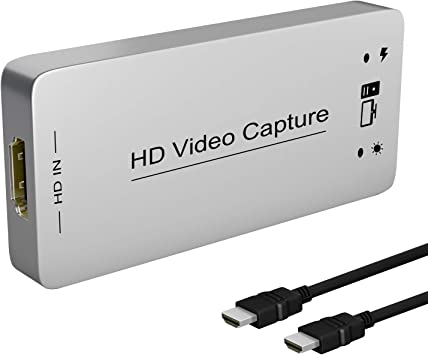 USB3.0 HD Capture High Speed USB3.0 HD Capture Dongle HDMI to USB 3.0 Adapter Converter Plug /& Play HDMI Video Capture Device