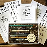 The art of Brush Lettering... made Simple. Based on Wildflower Art Studio's highly popular Brush Lettering classes, this curated kit includes everything you need to get started learning the art of Brush Lettering. Kit includes: - Step-by-Step...