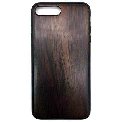 Amazon.com: De madera Funda para iPhone 7 Plus, madera ...