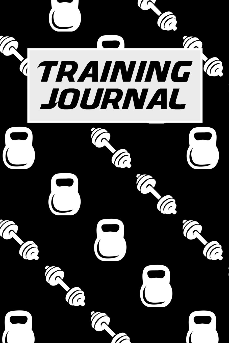 Training Journal: 6x9 Fitness Journal with One Rep Weightlifting