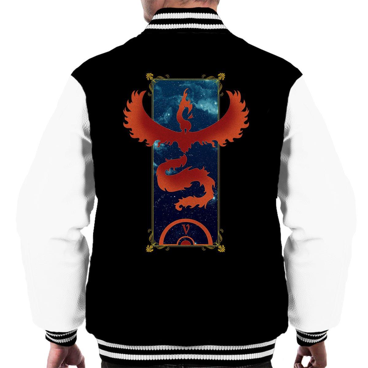 The Brave Team Valor Pokemon Men's Varsity Jacket