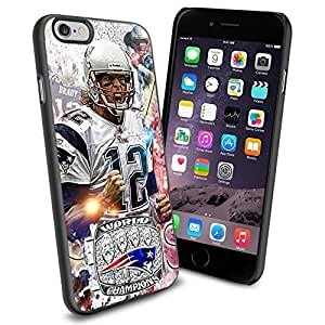 diy zhengNFL New England Patriots Tom Brady , Cool iphone 5c Smartphone Case Cover Collector iphone TPU Rubber Case Black