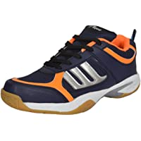 xAqua Pavoo XAP-876 Badminton Shoes Light Weight & Comfortable Unisex Shoes For ( Men, Boys, Women, Girls & Junior ) PU Material Non Marking Sole Outdoor Indoor Playing - Best in Badminton Shoes, Volleyball Shoes, Baseball Shoes, Use For Nursing Training, Walking, Running, Jogging, Cycling, Gymnastic, Sports Shoes