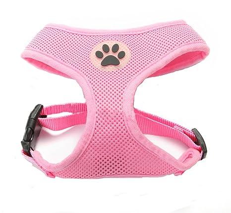 BbearT - Arnés para perro, malla transpirable de tela suave para ...