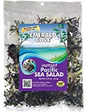 Emerald Cove Instant Pacific Sea Salad (Six Varieties of Sea Vegetables), 0.75 Ounce Bag