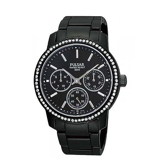 Pulsar Reloj analogico para Mujer de Cuarzo con Correa en Acero Inoxidable PP6047X1: Pulsar: Amazon.es: Relojes