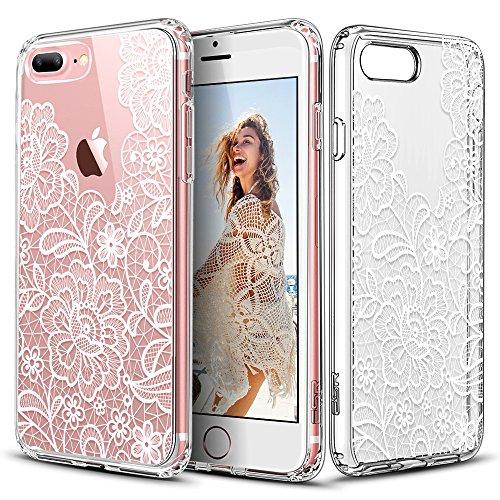 iPhone ESR Floral Pattern Scratch