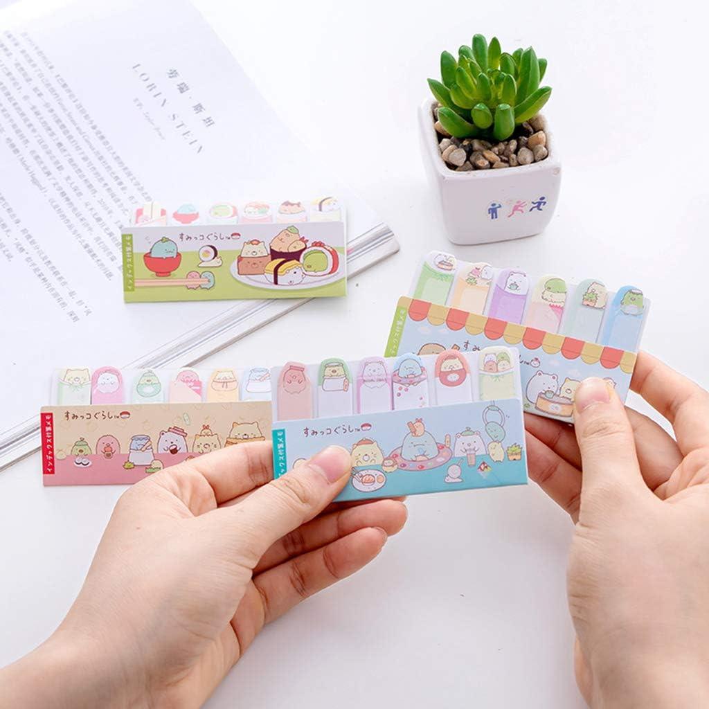 Tiptiper Cactus mignon Kawaii Bloc-notes Livre de papier Notes autocollantes Autocollants Papeterie /Étudiant /École