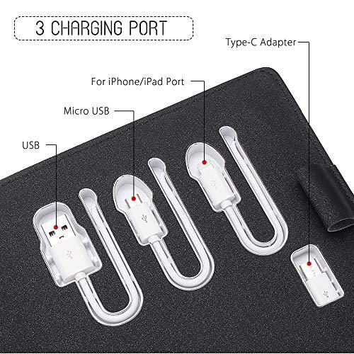 Amazon.com : Business PU Leather Notebook A5 Binder Spiral ...