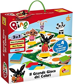 76659 Gioco per Bambini Bing Il Grande Multicolore Lisciani Giochi