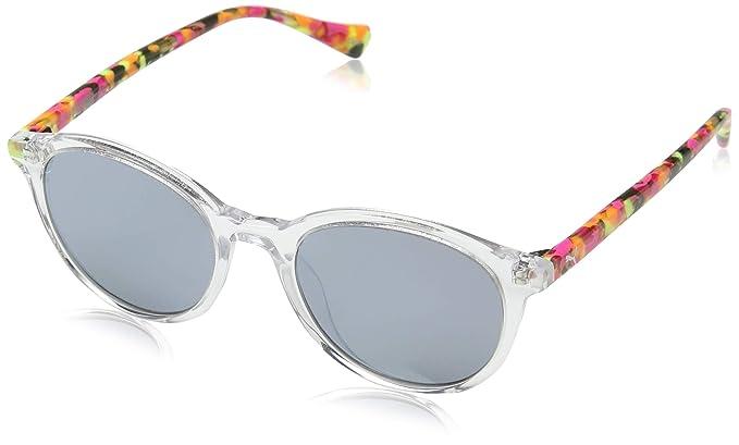 Puma Junior Gafas de sol, Multicolor (Crystal/Silver/Havana ...