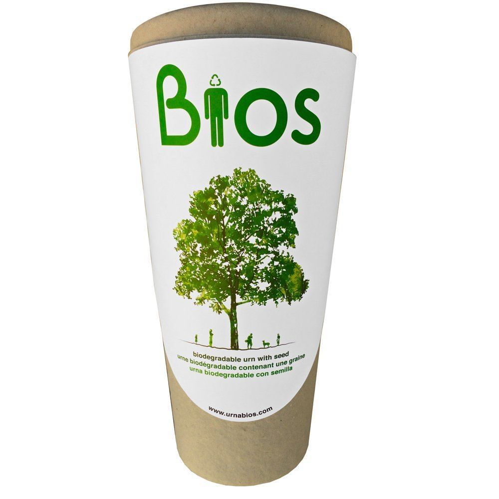Bios Urn Memorial Funeral Cremation Urn for Humans. Passing becomes a transformation as your beloved's ashes are returned to Life by means of nature. Grow a living memorial tree. 100% biodegradable. 100% made with love. by Urna Bios Memorial Urns