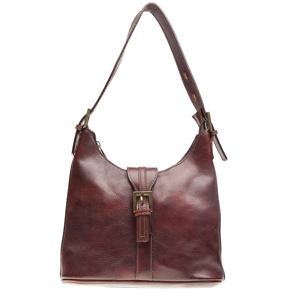 cf992f71aed8 Italian Leather Handbags By I Medici That Are Directly Imported From Italy  Burgundy 1600  Handbags  Amazon.com