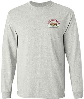 8de9c07a86a5 Amazon.com: Koloa Surf Long Sleeve Heavyweight Cotton T-Shirts in ...