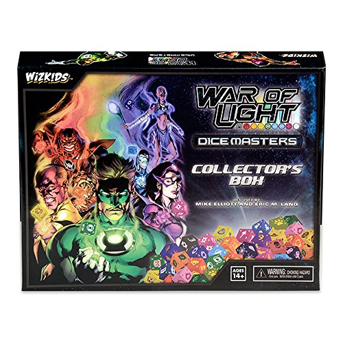 DC Dice Masters War Of Light Collectors - Dice Masters Case
