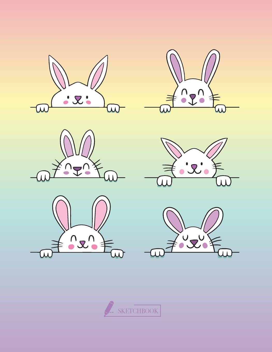 Sketch book: Cute rabbit cover (8.5 x 11)  inches 110 pages, Blank Unlined Paper for Sketching, Drawing , Whiting , Journaling & Doodling (Cute rabbit ... (8.5 x 11) inches, 110 pages) (Volume 3) pdf