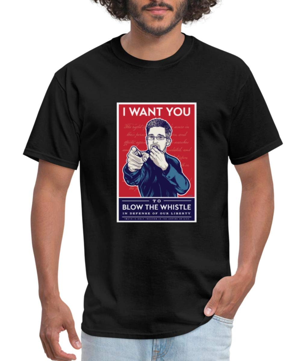 Wikileaks Snowden Whistleblower T Shirt 2877