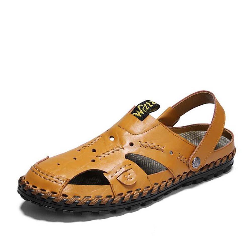 Männer Sandaleen Breathable Outdoor Fashion Sandaleen Strand Schuhe Zwei Tragen Sandaleen Casual Sandaleen Schwarz/Blau/Gelb Größe 38-44 Outdoor