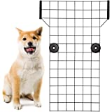 KOOLTAIL Dog Car Barrier - Front Seat Pet Vehicle Barriers Adjustable Steel,Safety Guaranteed Dogs and Passengers for Cars&SU