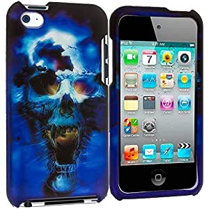 DiyPhoneBlue Skulls 2D Hard Snap-On pcized Accessory For Iphone 6Plus 5.5Inch Case Cover Generation