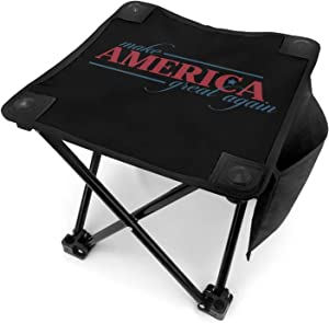 Donald Trump 2020 Keep America Great Slacker Chair for Beach Camping Stool Folding