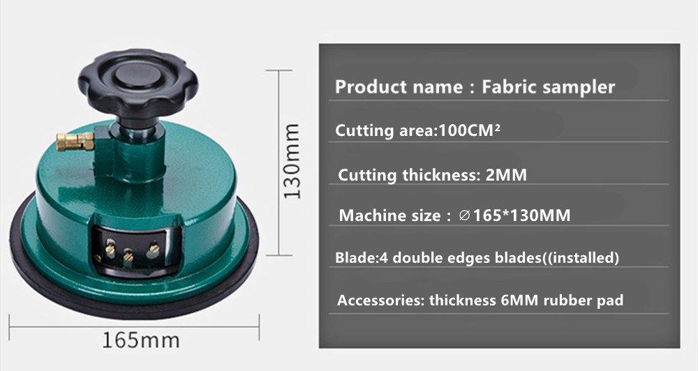 NEWTRY Balance Electrónica Textil Escala de Alta Precisión Balanza Analítica Digital Cuadrado con Muestreador de Tela Cortador de Discos de Ropa: Amazon.es: ...