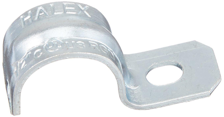 Halex 61105B One Hole Straps Rigid Steel (100 Piece), 1/2''