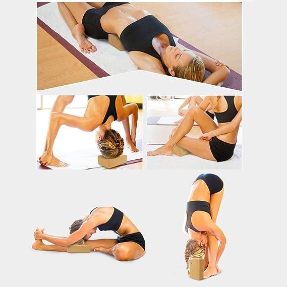 Marea eléctrica corcho bloque de Yoga, 100% Dureza Yoga ...