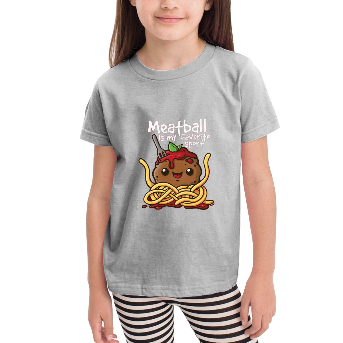 Onlybabycare Meatball Best Sport 100/% Cotton Toddler Baby Boys Girls Kids Short Sleeve T Shirt Top Tee Clothes 2-6 T
