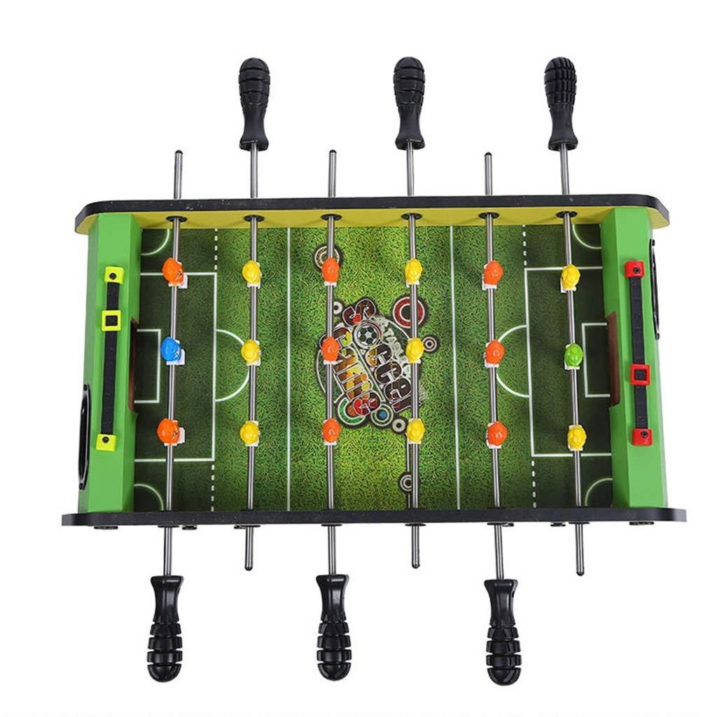 サッカー テーブルサッカー3-10歳の子供のおもちゃの贈り物6席テーブルサッカー機家族のゲーム機ギフト子供の教育玩具 球技スポーツ (Color : Green, Size : 47*24*17.5cm) B07NVLYKQN Green 47*24*17.5cm