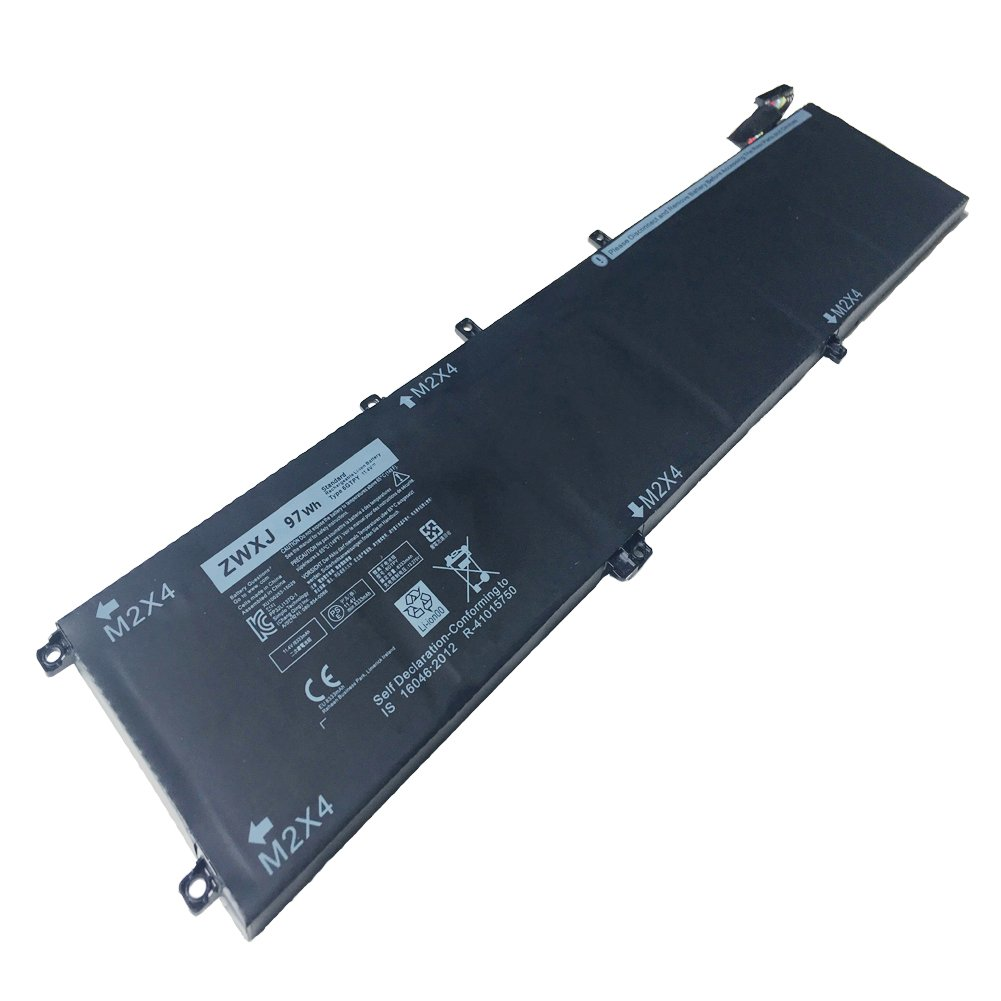 ZWXJ New Laptop Battery TYPE 6GTPY 11.4V 97WH For DELL XPS15 9560 9550 Precision 5510 5520 M5520 5XJ28 6GTPY