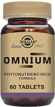 Solgar Omnium Vitaminas - 60 Tabletas