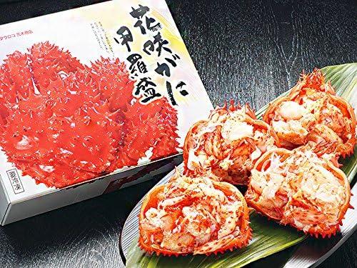 花咲がに甲羅盛りセット 北海道産 (幻の蟹と言われるハナサキガニ) 食べやすいこうら盛り 丁寧に手作業で甲羅に詰めてます (はなさきカニの美味しさを逃がさない急速冷凍)