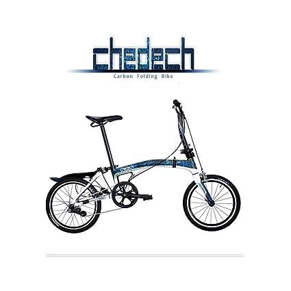Get2Get Chedech Carbon Folding Bike Blue