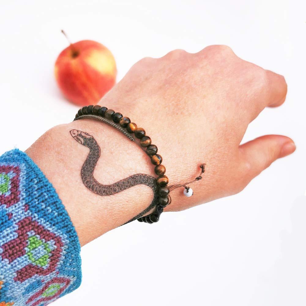 Eva Snake 2 Tempor/äres Tattoo